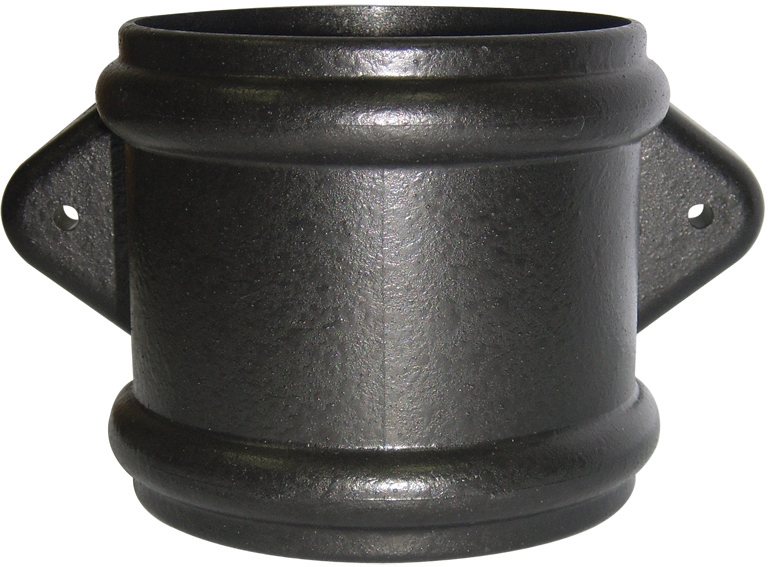 FloPlast Cast Iron Effect 110mm Soil Pipe Double Socket Coupling