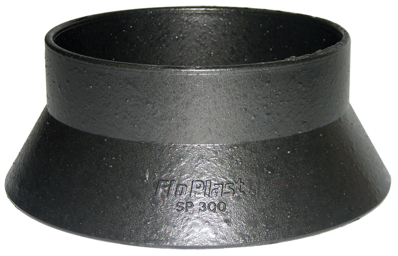FloPlast Cast Iron Effect 110mm Soil Weathering Collar