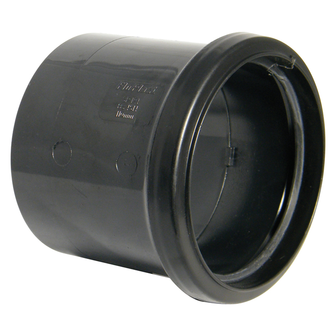 FloPlast 110mm Soil Pipe Single Socket Coupling